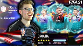 FULL CROATIAN TEAM IN FUT CHAMPS! // FIFA 21 ULTIMATE TEAM