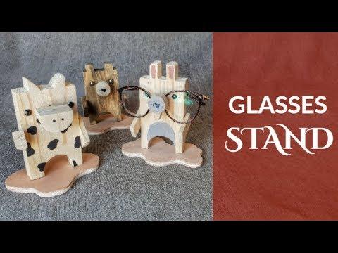 Glasses Stand Rack / Organizer DIY + Firmoo Review (English Subtitles)
