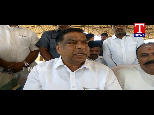 MLA Sudheer Reddy Launches Grain Purchase Center in Kandlakoya Market Committee | Medchal | TNews