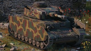 World of Tanks Pz.Kpfw. IV Ausf. H - 10 Kills 3,7K Damage