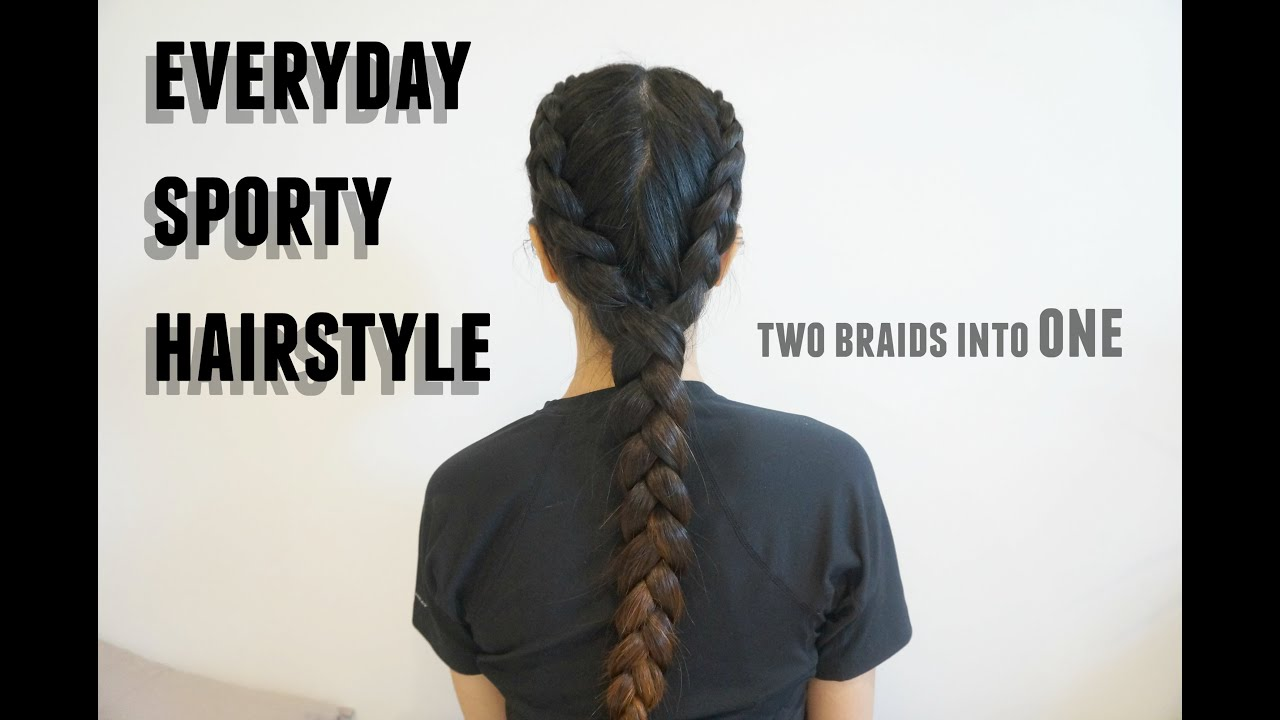 Sporty Hairstyle Boxer Braid Youtube