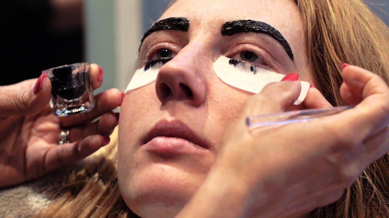 Eyelash And Eyebrow Tinting Blink Brow Bar Vancouver Youtube