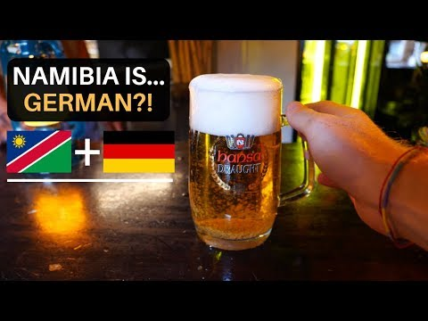 Namibia is... GERMAN?!