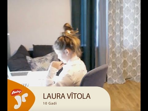 Amigo Juniori fināliste - Laura Vītola