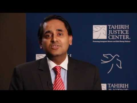 I Support Tahirih: Vasu Mohan