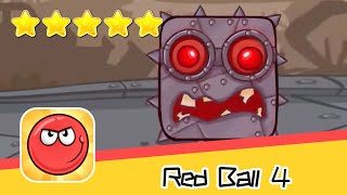 Red Ball 4 Box Factory Level 37-40 Walkthrough The Jump'n'Roll Hit Game Recommend index five stars