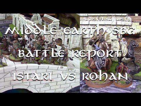 Middle Earth SBG Battle Report - Adventures in Altrincham - Istari vs Rohan in Osgiliath