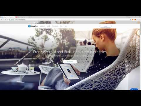 What Is LEUPAY And How To Open An Account (how To Have A Crypto SEPA Account) 1