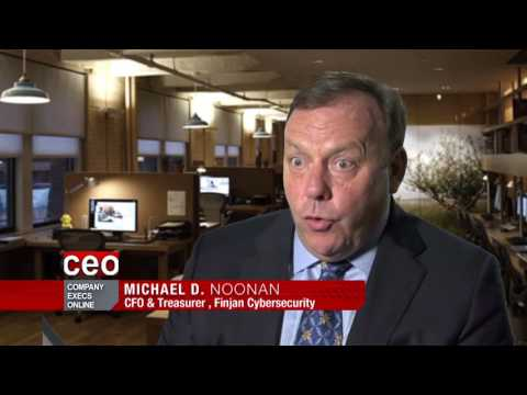 Bloomberg Interview with Finjan CFO Michael Noonan