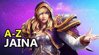 ♥ A - Z Jaina - Heroes of the Storm (HotS Gameplay)