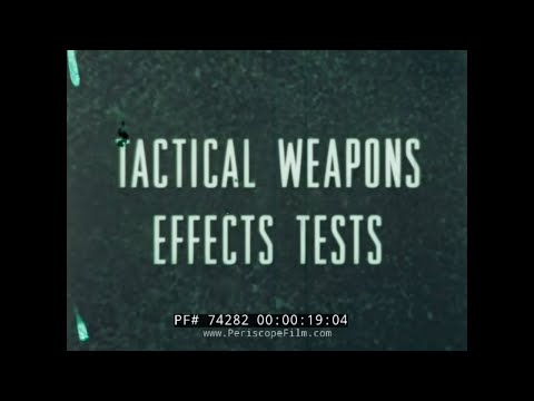USAF TACTICAL WEAPONS EFFECTS TESTS  CENTURY SERIES AIRCRAFT VIETNAM ERA 74282