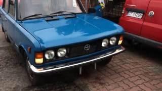 Odpalanie FSO 125p Duży Fiat po 28 latach