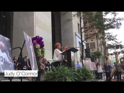 Mayor Bob O'Connor memorial