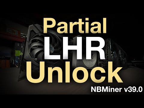 LHR Partial Unlock with NBMiner v39.0 (3060, 3070 Ti, 3080 Ti Tested)