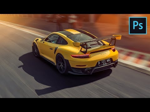 TOP 10 Photoshop tools and features for car photography