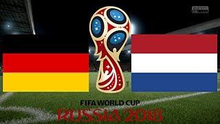 DEUTSCHLAND vs. HOLLAND (WM 2018) ◄DEU #14►