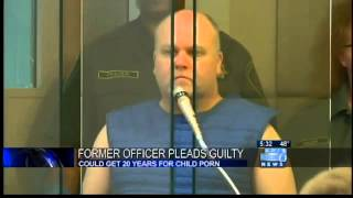 Former Portland policeman pleads guilty in child-porn case