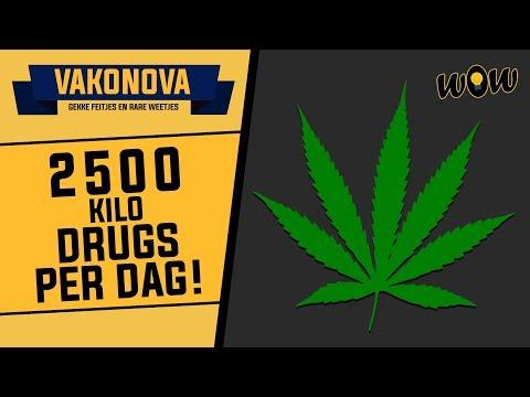 2500 KILO DRUGS PER DAG? - WOW #112 - Vakonova