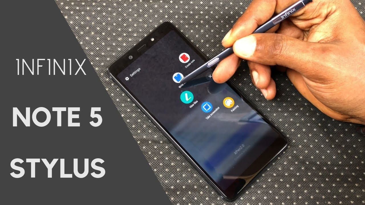 Infinix Note 5 Stylus(Pro) Unboxing and Comparison With Note 5