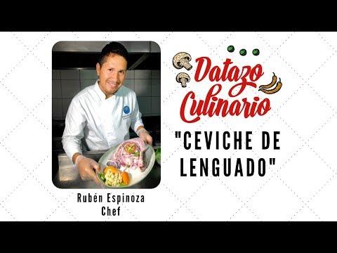 #DatazoCulinario: Cómo Preparar Un Ceviche De Lenguado Con Rubén Espinoza