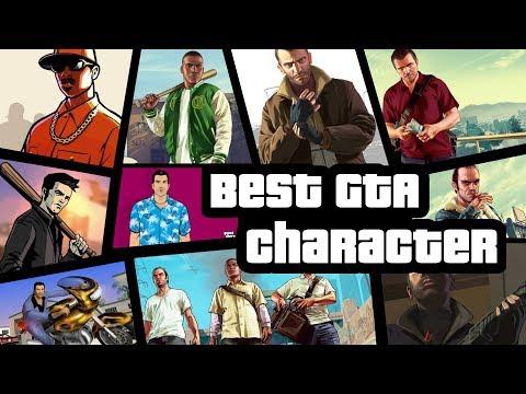 Who Is The Best GTA Main Character | Claude Vs Tommy Vs CJ Vs Niko Vs Franklin Vs Trevor Vs Michael