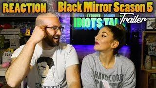 Black Mirror Season 5 all trailers - Reaction & Review