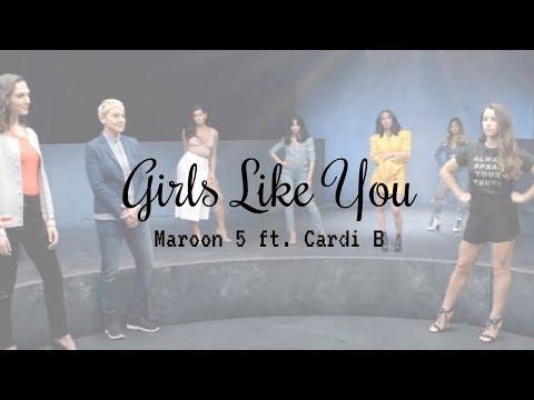 Girls Like You -Maroon 5 ft. Cardi B【中文歌詞版】