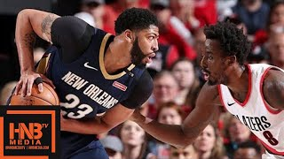New Orleans Pelicans vs Portland Trail Blazers Full Game Highlights / Game 2 / 2018 NBA Playoffs
