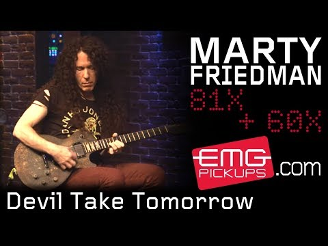 "Marty Friedman Plays ""Devil Take Tomorrow"" Live On EMGtv"