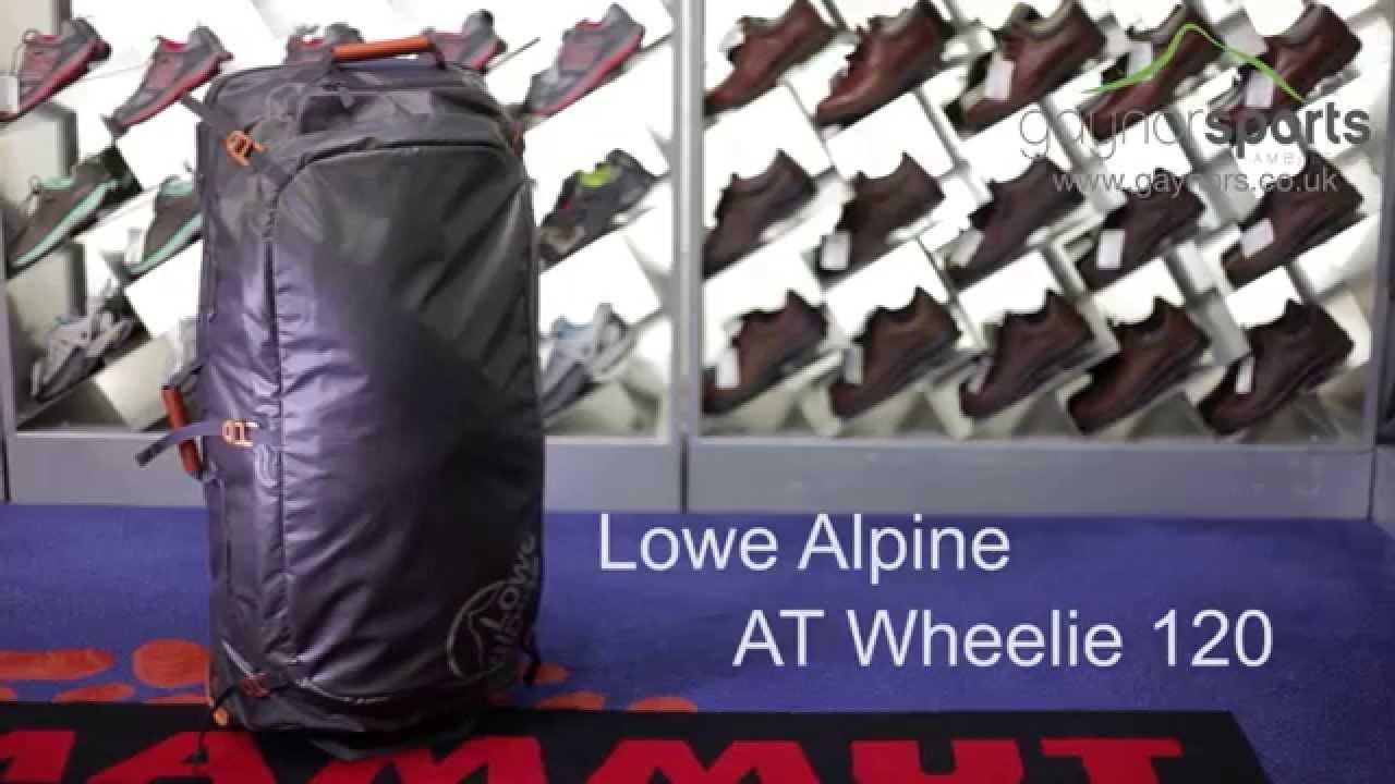 Lowe Alpine at Wheelie 120 Trolley//Kofferroller