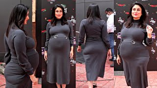 Kareena Kapoor Heavily Pregnant Baby Bump Growing Gracefully In 7Month Pregnancy & Delivery In March