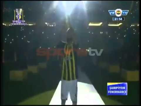 Raul Meireles 'ten İlginç Dans Fenerbahçe 'nin Şampiyonluk Kutlaması