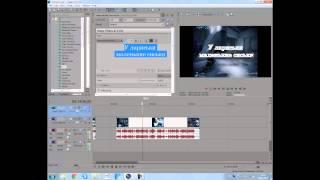 Sony Vegas Обучающее видео для НОВИЧКОВ