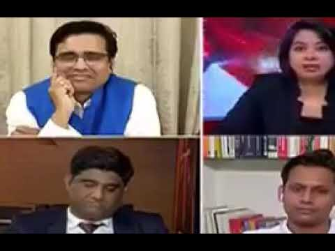News reader gets angry on politicians abt doing religion conversations