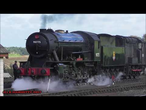 2-10-0 Heavy Freight Engine Day North Norflok Railway Day 6 5/10/2017