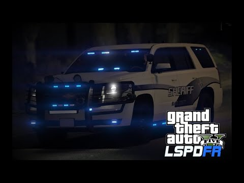 GTA 5 LSPDFR Police Mod | Chaos in Blaine County | 2016 Chevy Tahoe | Road to 500 Subs!!