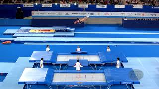 FIG Official - 2019 Trampoline Worlds, Tokyo (JPN), 28 November-1st december 2019. Be sure to favorite and thumbs up the video and leave a comment!