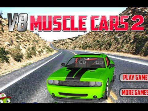 v8 muscle cars 2 level 1-6 walkthrough - youtube