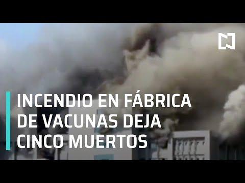 Incendio en fábrica de vacunas, India - Expreso de la Mañana