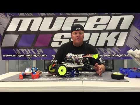 Adam Drake from Mugen Seiki Racing explains wheelbase adjustment.