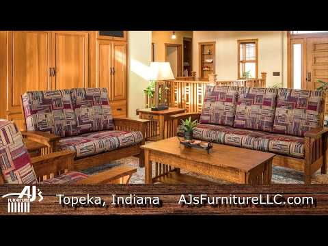 AJ's Furniture | Amish Furniture Builder | Topeka, Indiana