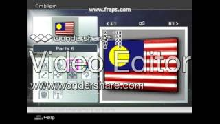Malaysian Flag in PES 6 PC/PS2 Make Tutorial-step by step