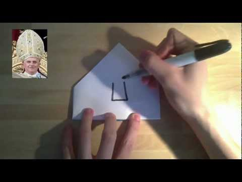 How to: make a pope hat