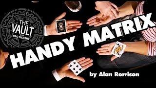 HANDY MATRIX by Alan Rorrison