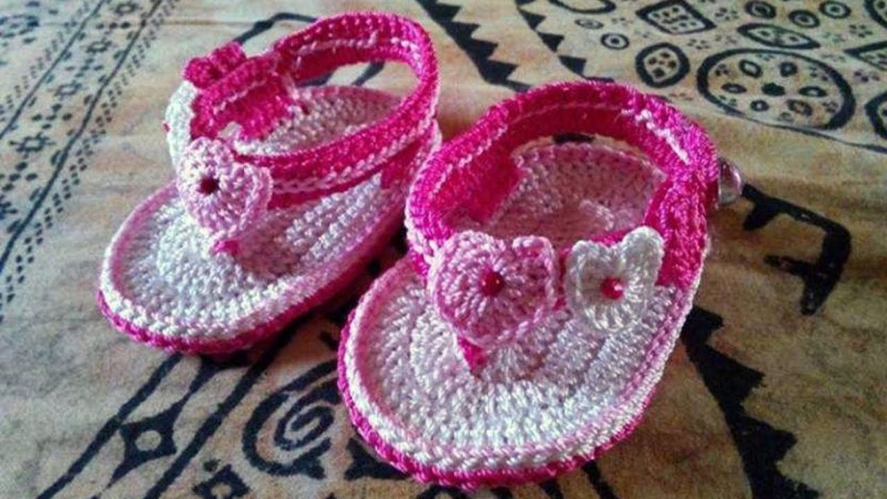 Adorable And Free Crochet Baby Sandals Patterns Youtube