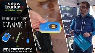 Recherche de victimes d'avalanche avec Ortovox, chez Snowleader.com