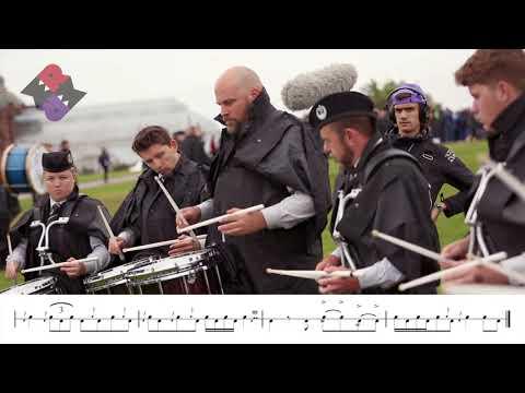 Manawatu Scottish Pipe Band Drum Corps 2018 Medley
