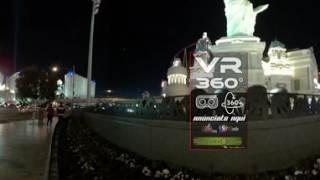 360 VR conoce el Casion & Hotel en Las Vegas New York 4k