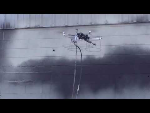 Proof of Concept of the Apellix Spray Painting Drone