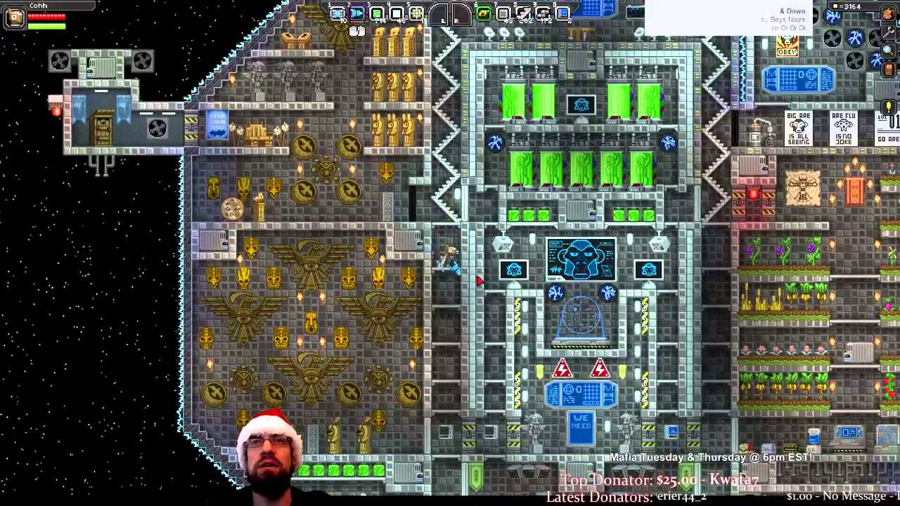 The Completed Asteroid Base Starbound YouTube